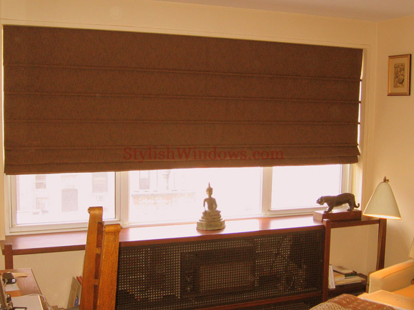 Custom Roman Shades In New York City Nyc Manhattan
