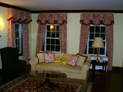 Empire valance and drapes in New York
