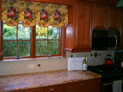Sheffield valance for kitchen window in New York